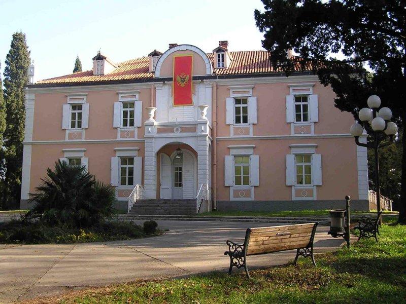 Королевский дворец Петровичей - центральное здание Художественного музея