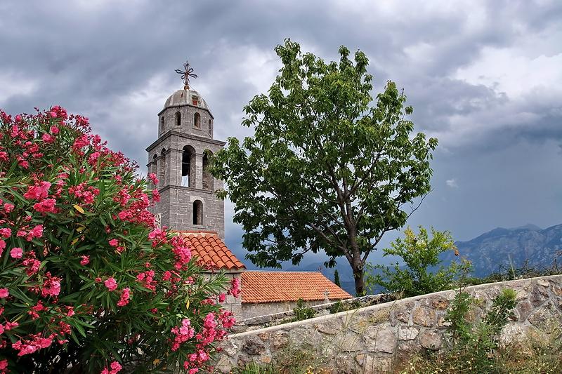 Католическая церковь Святого Иоанна - наследие австрийского присутствия на полуострове Луштица