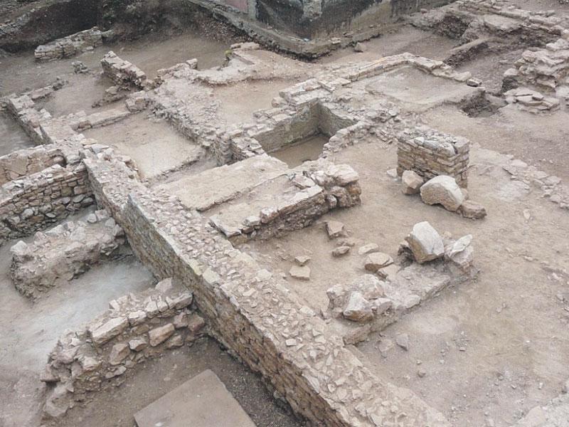 Раскопки мозаики пребывают в незавершенном состоянии