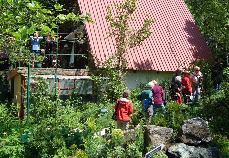 Ботанический сад обязан своим возникновением Даниэлю Винчеку