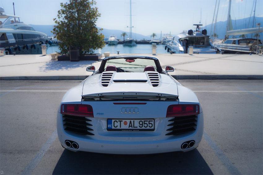 Audi R8 Spyder напрокат